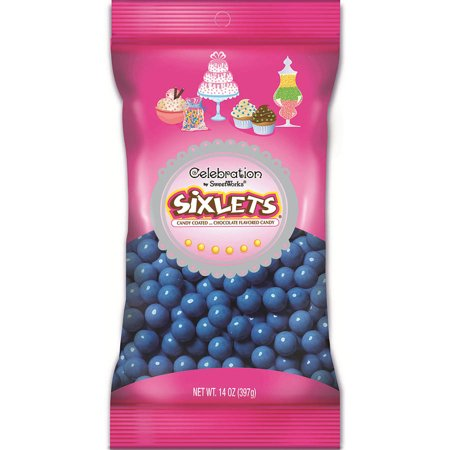 DECORATOR SIXLETS - White Sixlets