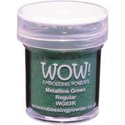 WOW! Embossing Powder 15ml-Green Metalline