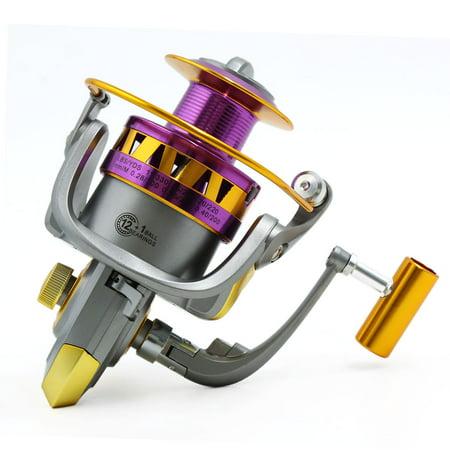 13BB 5.5:1 Spinning Reels Freshwater Saltwater Left/Right Fishing Reel HB6000 - image 7 de 8