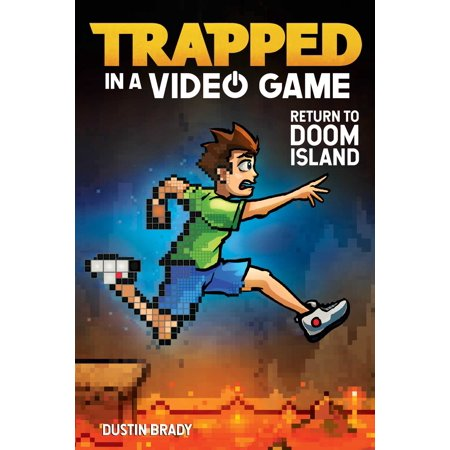 Trapped in a Video Game: Return to Doom Island (Paperback) Indoor Book Returns