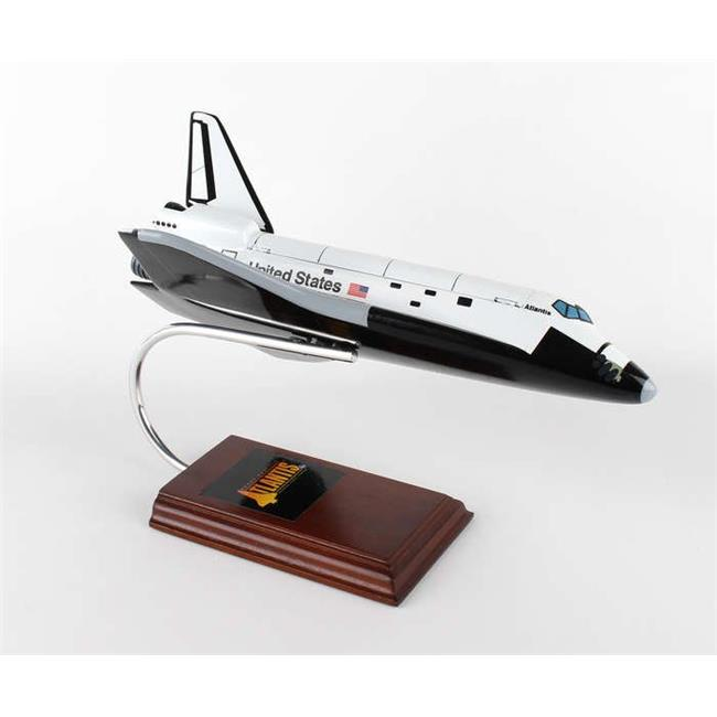 Executive Series Display Models E83100 Space Shuttle Atlantis 1-100 with Working Cargo Doors - XKYNOCBD