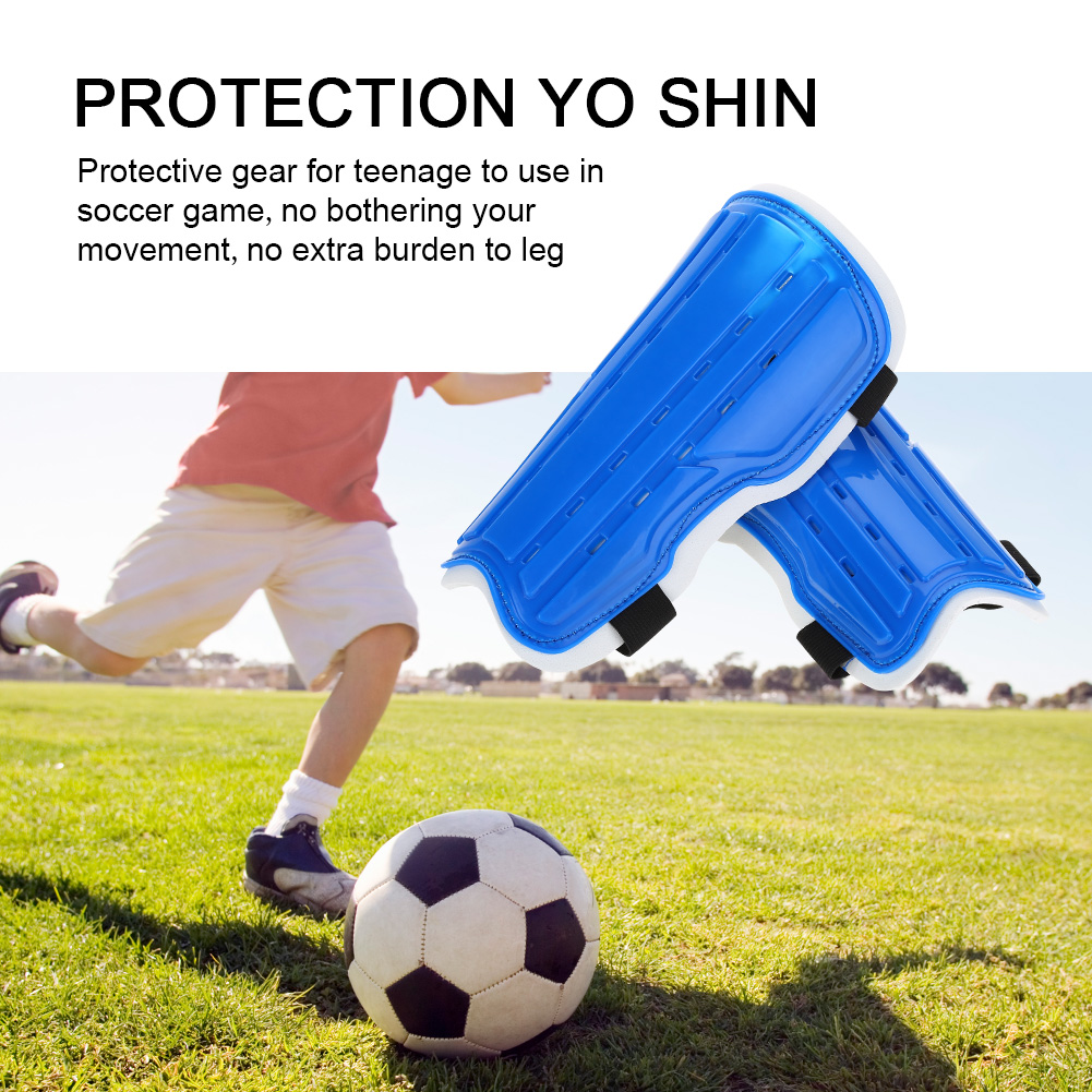1Pair Kids Soccer Shin Guards Football Padded Knee Protectors Adjustable Strap Protective Gear ,Shin Guard, Soccer Keen... by