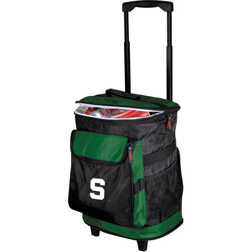 "Logo Chair NCAA Michigan State 15"" x 16"" Rolling Cooler"