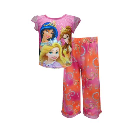 Disney Princesses Belle, Rapunzel and Jasmine Pajamas](Princess Jasmine Pajamas)