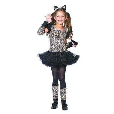 IN-13595698 Little Leopard Girls Halloween Costume MEDIUM By Fun Express - Halloween Express Jobs