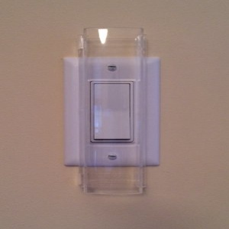 Child Proof Light Switch Guard - For Decora Rocker Style Light Switch