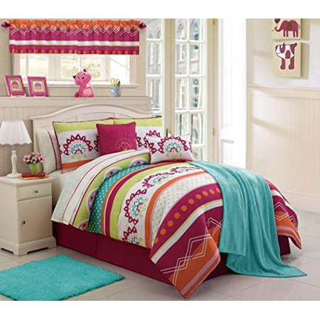Image of 3-Piece Vanessa Comforter Set, Pink