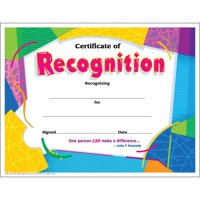 Trend, TEPT2965, Certificate of Recognition, 30 / Pack