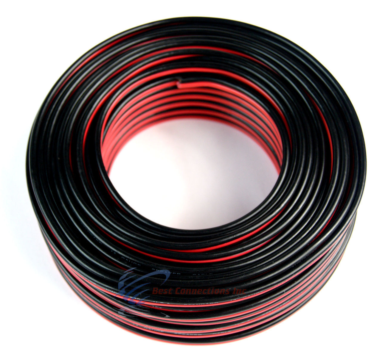 Audiopipe 100 Ft 14 Gauge Red Black Stranded 2 Conductor