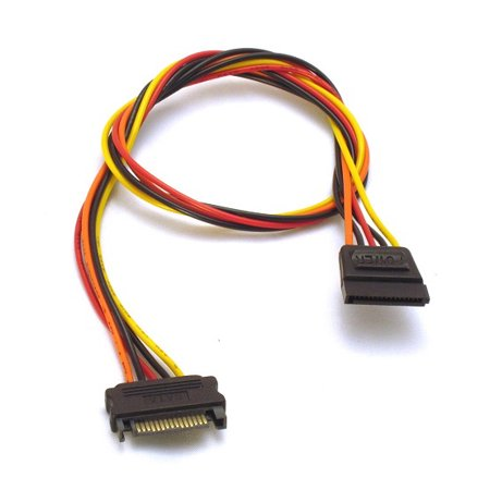 15 Pin SATA Power Extension Cable - 20