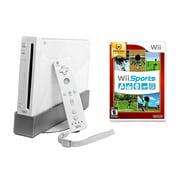 Wii Console White - Wii Sports Bundle (Refurbished)