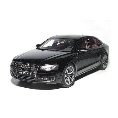 2014 Audi A8 L W12 Phantom Black 1/18 Diecast Model Car by Kyosho