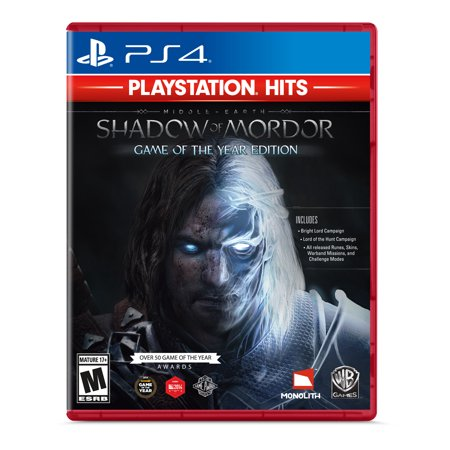 Middle Earth: Shadow of Mordor (PS4) Warner Bros. (Shadow Of Mordor Lord Of The Hunt)