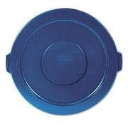 Round Brute Flat Top Lid in Blue
