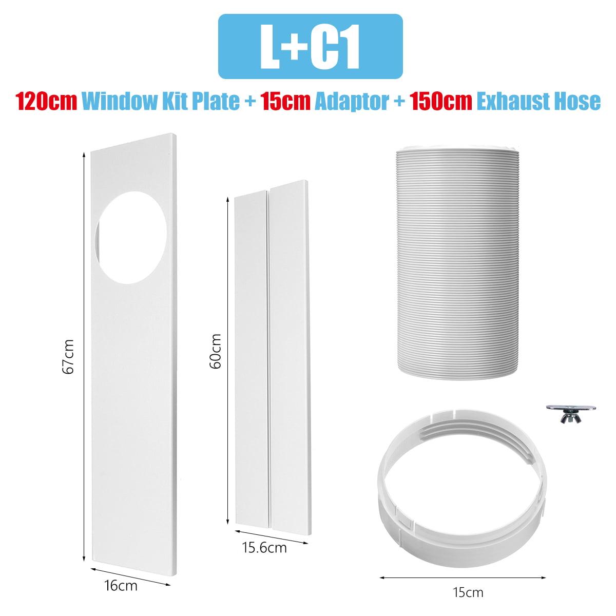 Window Slide Kit Plate Door Seal Cloth Exhaust Hose Parts
