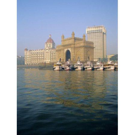 Gateway of India Arch and Taj Mahal Intercontinental Hotel, Mumbai, Maharashtra State, India Print Wall Art By Gavin Hellier