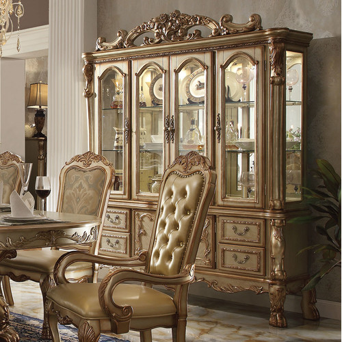 A&J Homes Studio Dresden China Cabinet by