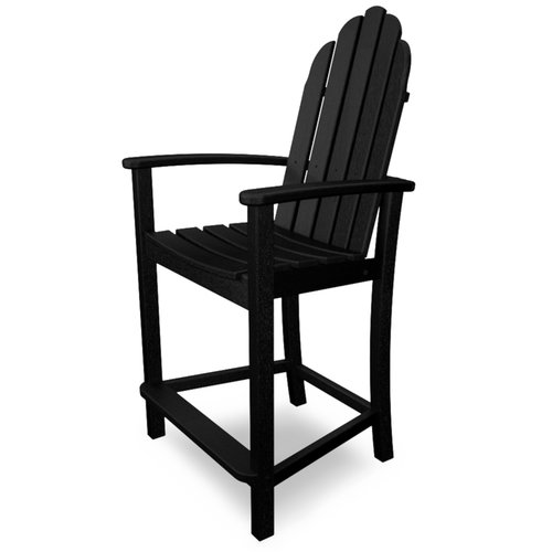 POLYWOOD Adirondack 24.25'' Patio Bar Stool