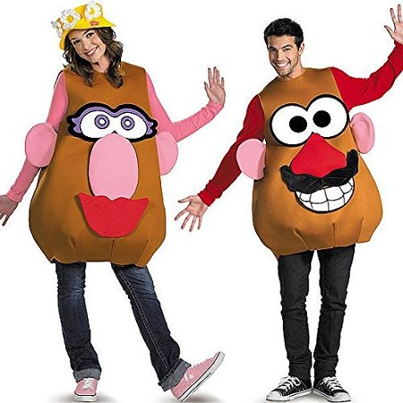 Deluxe Mr. Potato Head Costume - X-Large - Chest Size 42-46](Potato Costume)