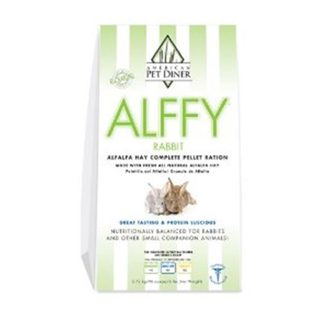 American Per Diners 209 Alffy Rabbit Pellets 6lb by American Pet Diner