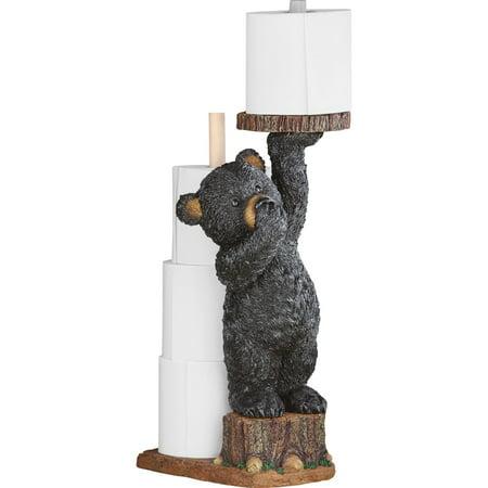 Northwoods Bear Cub Toilet Paper Holder, 22