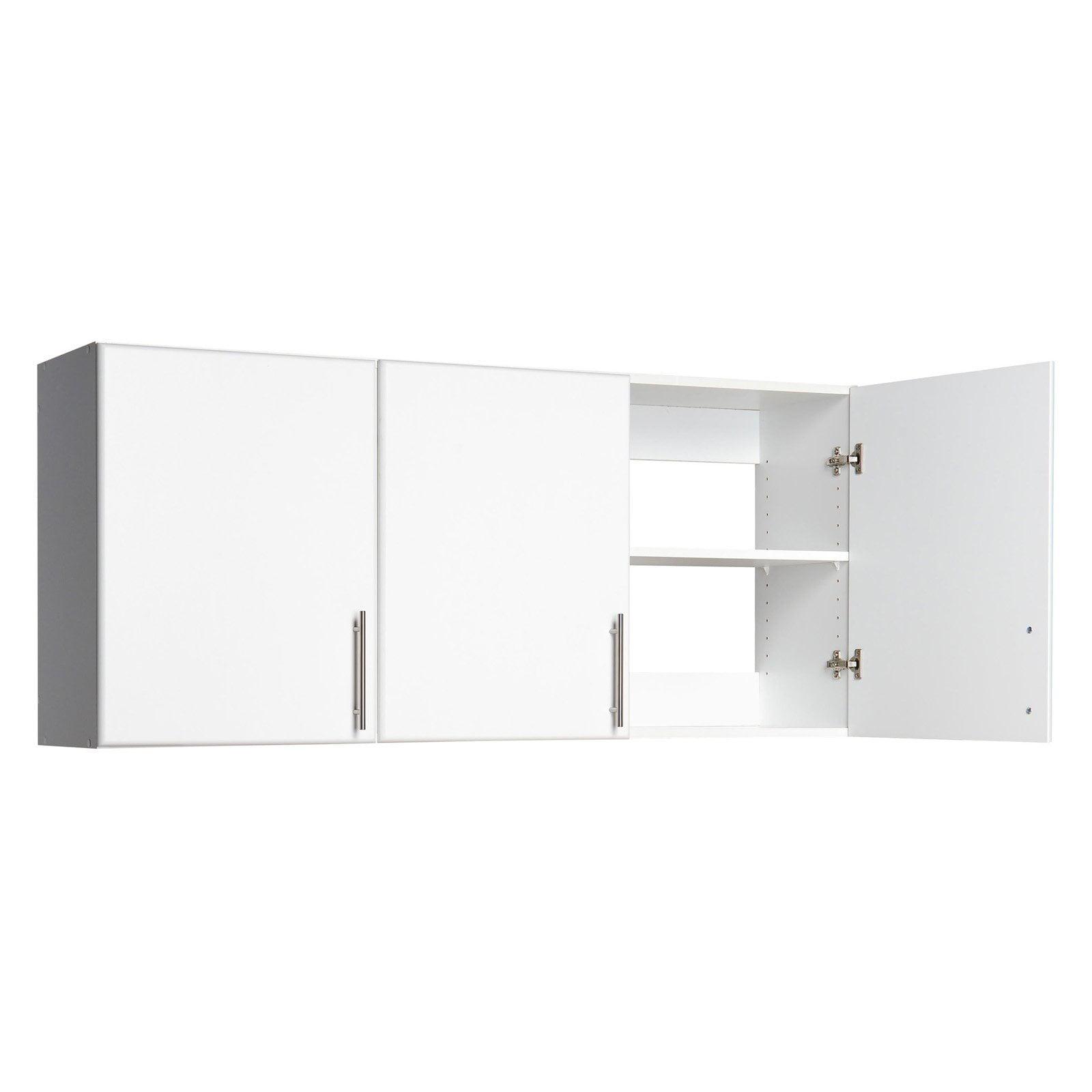 Wall Cabinet Shelving Storage 3 Door 54 Organization Home Furniture