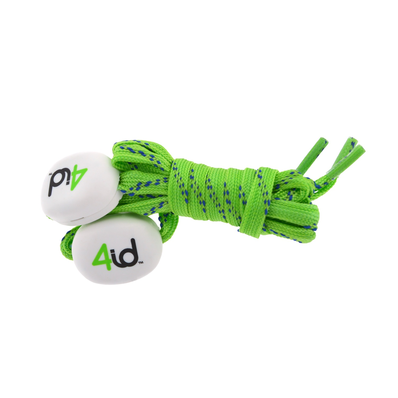 Image of 4id PowerLacez Light Up Shoelaces Green