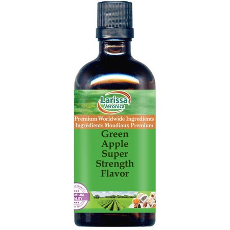 Green Apple Super Strength Flavor (8 oz, ZIN: 527734) - 2-Pack
