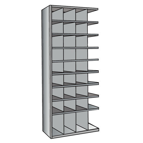 Hallowell Hi-Tech 87'' H 9 Shelf Shelving Unit Add-on