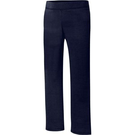 Hanes ComfortSoft EcoSmart® Girls' Open Bottom Leg Sweatpants(Little Girls & Big