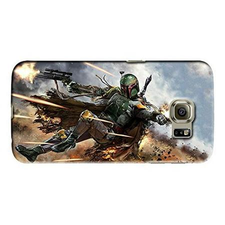 Ganma Star Wars Boba Fett Case For Samsung Galaxy S6 Hard Case Cover