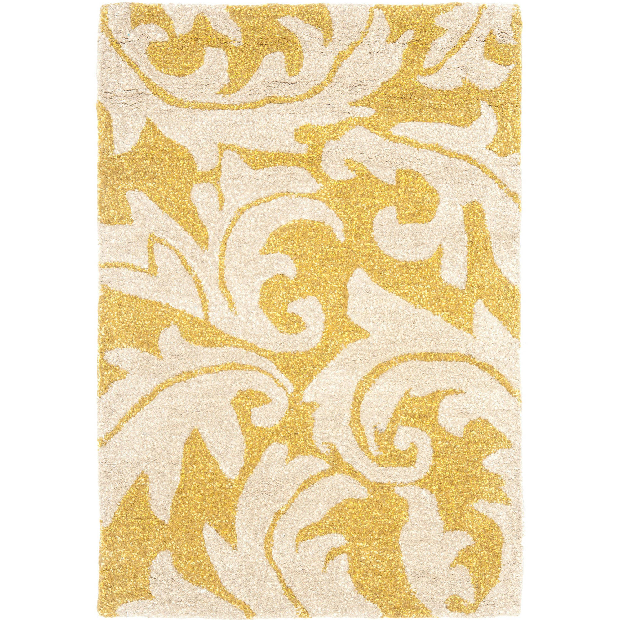 Safavieh Soho Blair Wool Area Rug, Gold/Ivory, 2x3