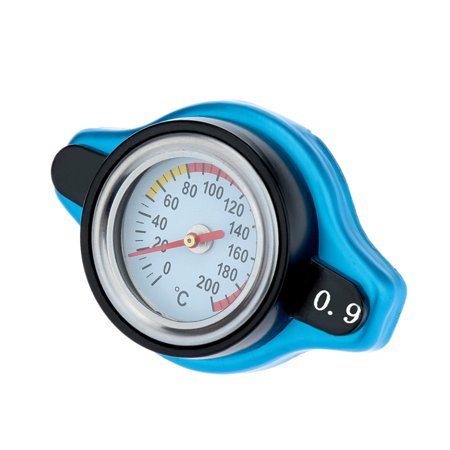 Universal Thermo Thermostatic Radiator Cap Cover with Water Temperature Gauge (Thermo Caps)