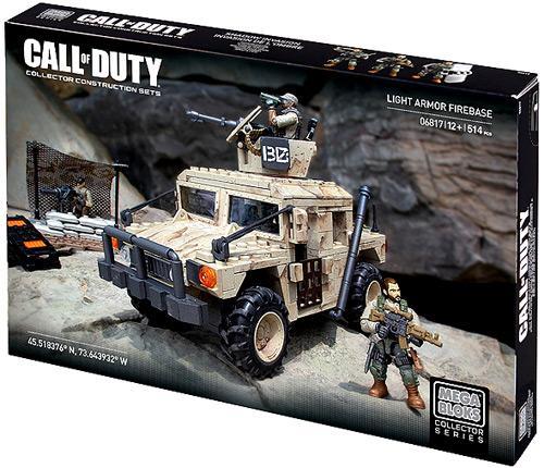 Mega Bloks Call of Duty Light Armor Firebase Set #06817 by Mega Brands