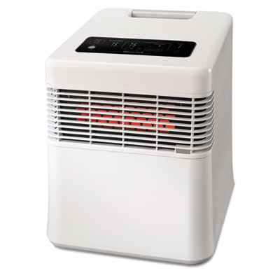 Energy Smart HZ-970 Infrared Heater, 15 87/100 x 17 83/100 x 19 18/25, White, Sold as 1 Each