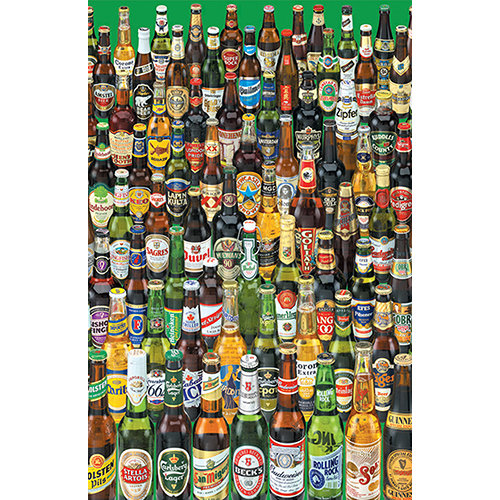 Mini Beers 1000 Piece Puzzle