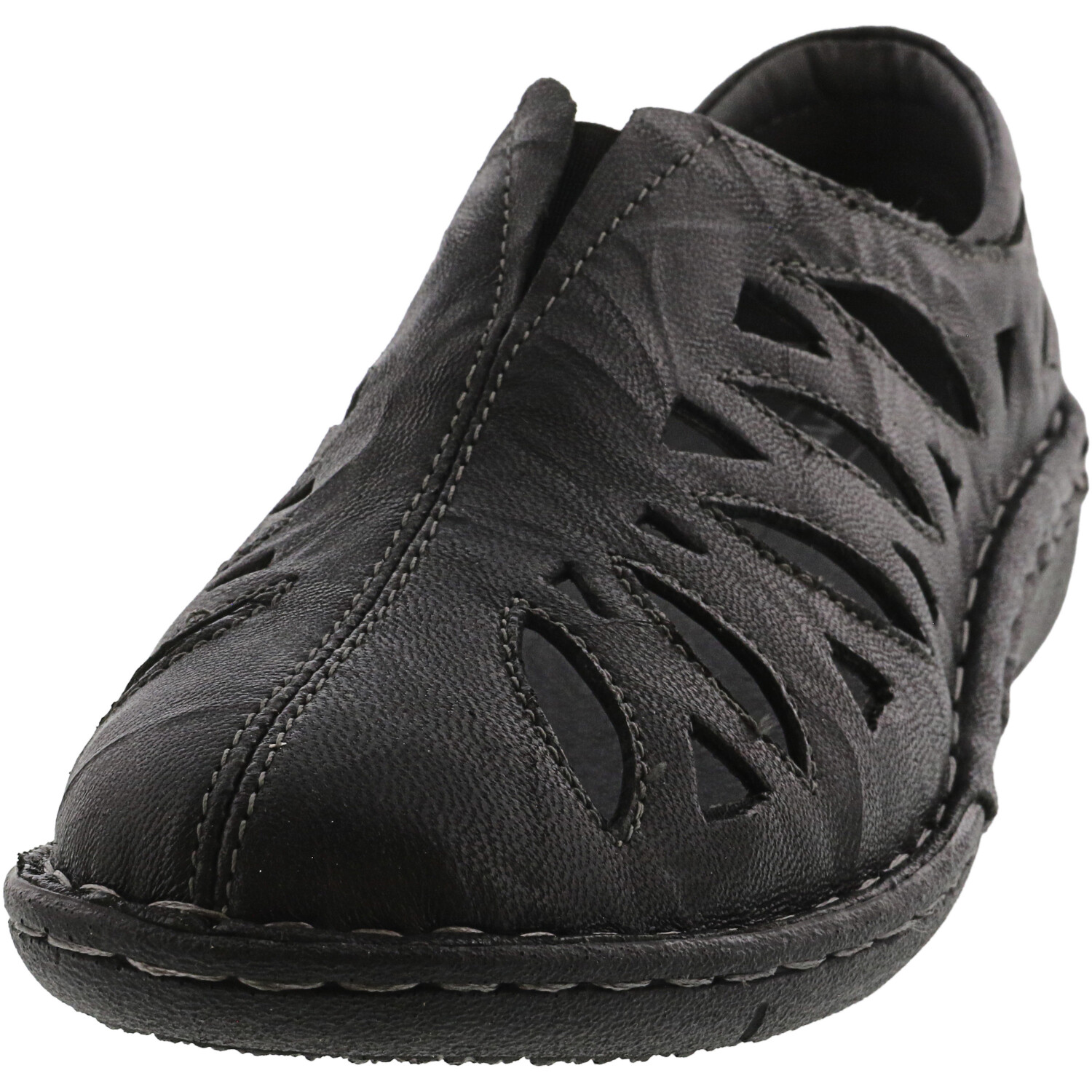 Propét Mens Cameo Leather Closed Toe