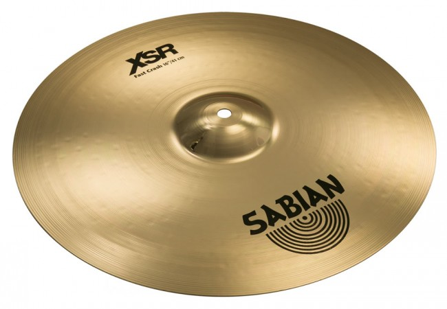 Sabian XSR1607B XSR Series 16 inch Fast Crash Cymbal - Brilliant
