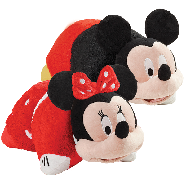 Disney Minnie and Mickey Mouse Pillow Pets Combo Pack