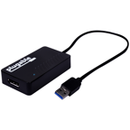 Plugable DisplayLink 4K Monitor Adapter - USB 3.0 to DisplayPort for Windows
