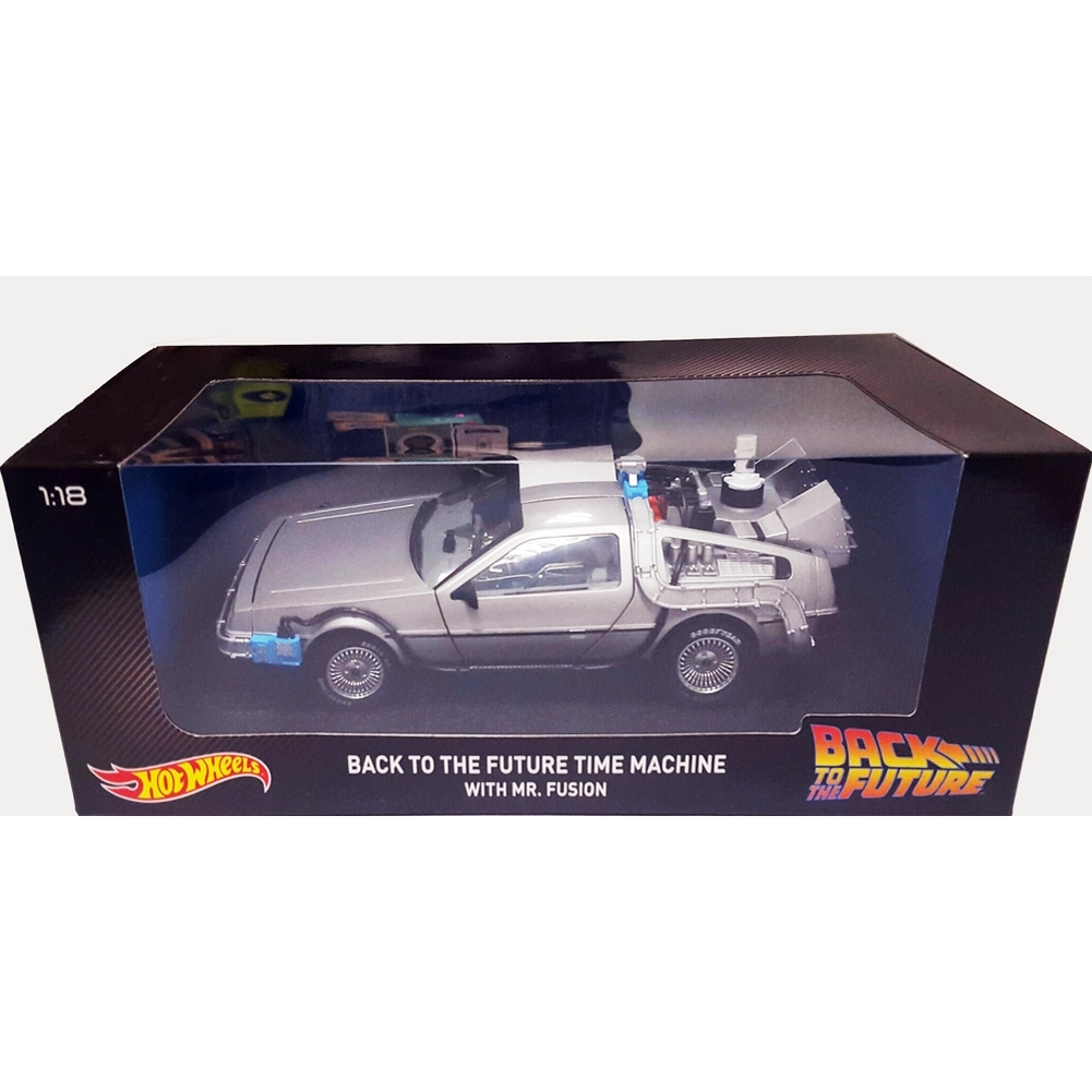 Hot Wheels Elite DeLorean