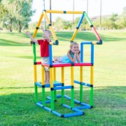 """Funphix Create And Play Life Size Structures - """"Deluxe Set 296 PCS"""""""