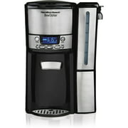 Hamilton Beach 12-Cup BrewStation Dispensing Coffee Maker with Removable Reservoir, 47950, Silver/Black