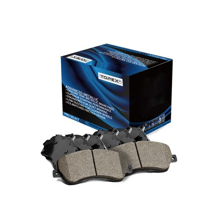 TOPEX Front & Rear Brake Pads Ceramic Pads For 2005 - 2009 Buick Allure CX/ CXL, 2005 - 2008 Buick Allure CXS, 2005 - 2009 Buick LaCrosse, 2005 - 2008 Pontiac Grand