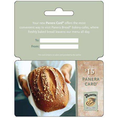 Panera Bread  15 Gift Card