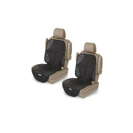 Kiddopotamus Elite Duomat 2 in 1 Car Seat Protector Mat, 2 Pack