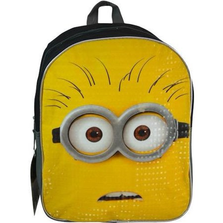 3 Plain Front 15 Backpack, 100% polyester. By Despicable Me