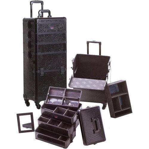 Seya Inc. Professional 4-1 Rolling Makeup Case