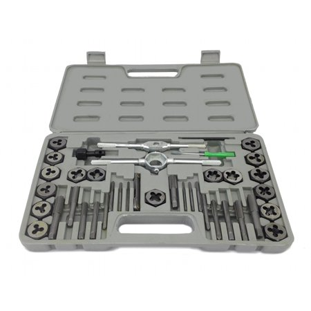 NEW 40 piece TAP AND DIE SET METRIC MM Tool Kit w. Case ()