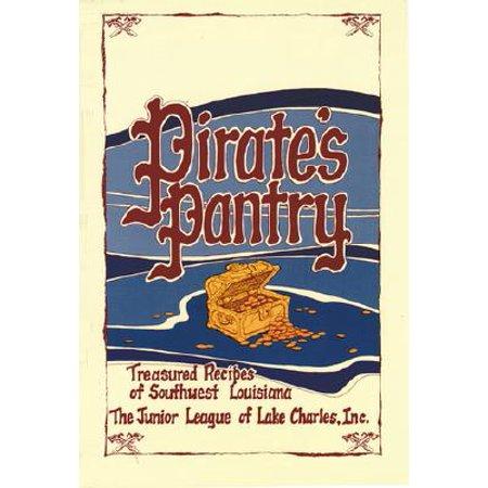 Louisiana Book - Pirate's Pantry : Treasured Recipes of Southwest Louisiana